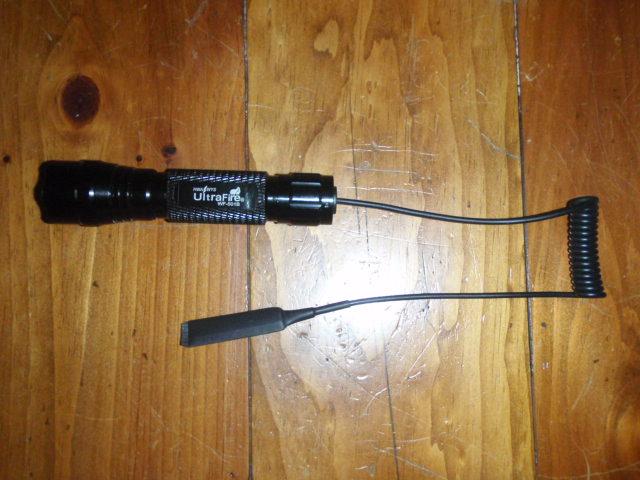 Ultrafire 501B Pressure Switch