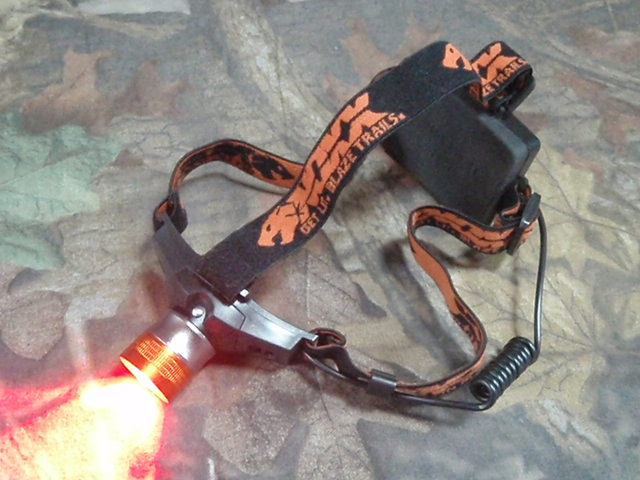 Noxx Xplorer Red LED Headlamp