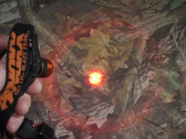 Noxx Xplorer Narrow Beam or Spotlight Setting