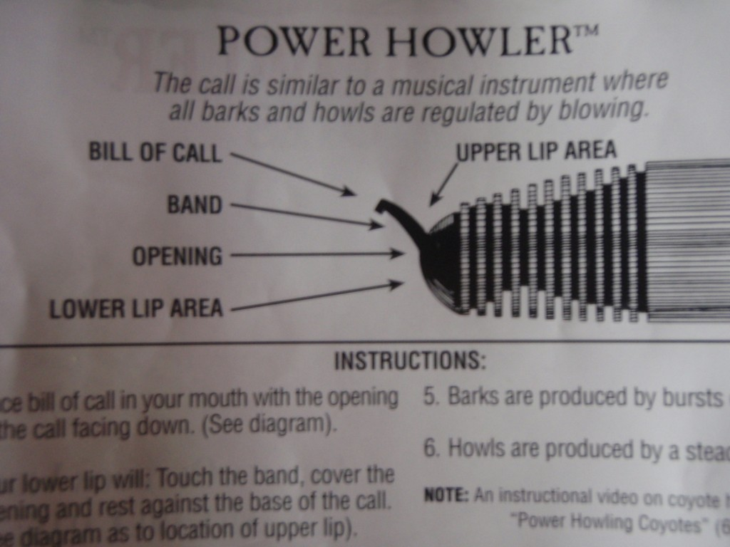 E.L.K. Power Howler Instructions