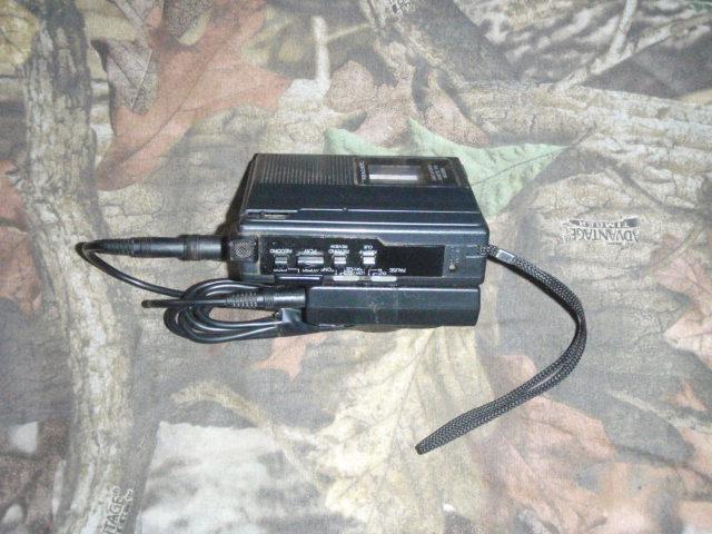 Cassette Player with Azden Wireless Mic